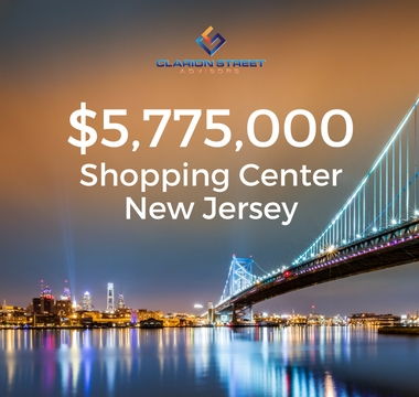 $5775000 Shopping Center | NJ